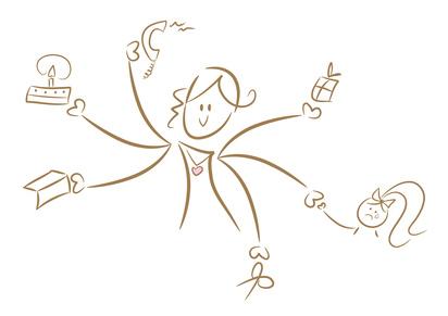 3+1 Tipps für mehr Leichtigkeit & Wohlbefinden im hektischen Alltag einer Mutter